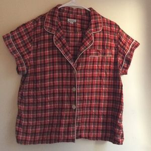 Steven Alan short plaid pajamas